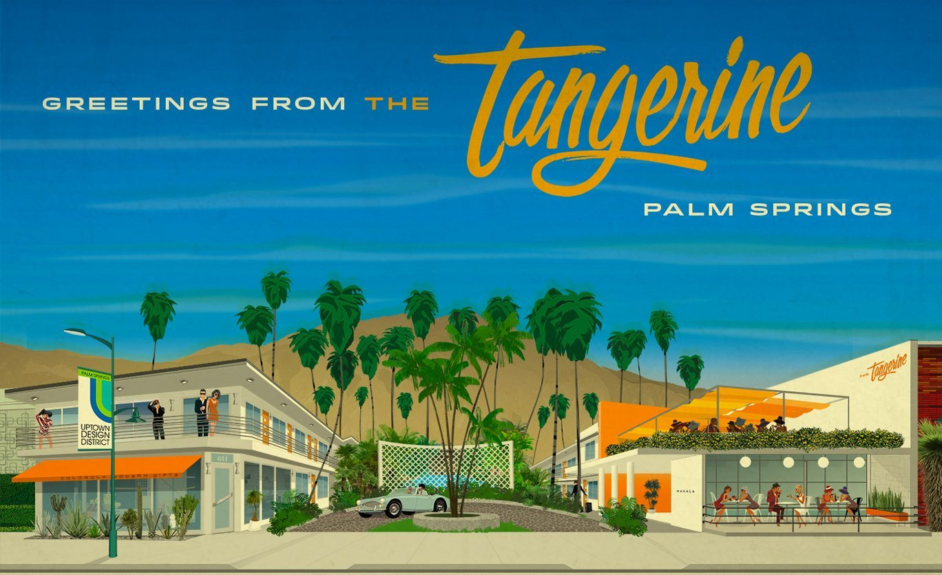 Future ambitions for the Tangerine include hospitality design in fabulous Palm Springs